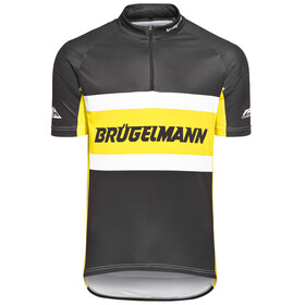 Brügelmann Basic Team Jersey Herren schwarz/gelb